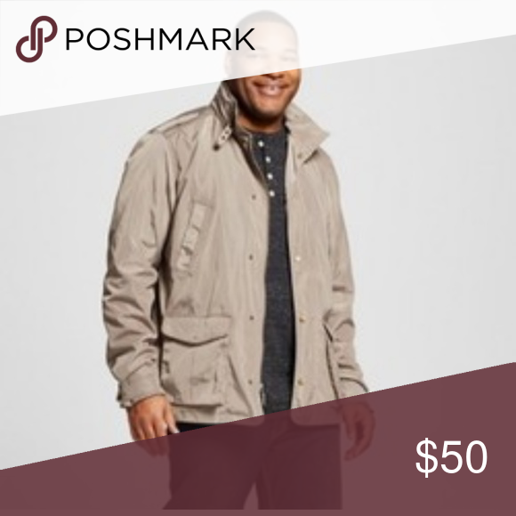 Mens Big & Tall Nylon Jacket