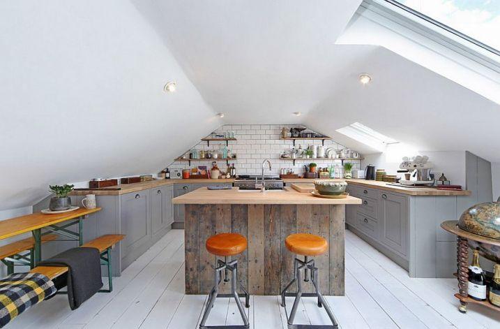 30 Exemples de décoration de cuisines au style industriel   Kitchens ...