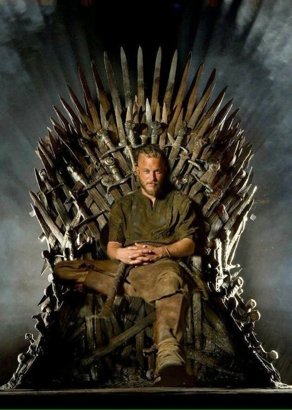 Ragnar Lothbrok It S Good To Be King Vikings Tv Show Best Funny Pictures Iron Throne