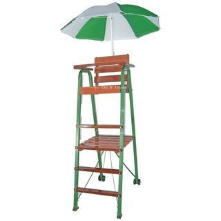 Tennis Umpire Chair Hire Posture Ball Adorable How Cute For A Backyard Anyone Home Kitchens Kitchen Furniture Office
