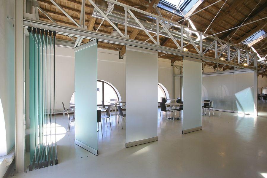 Mampara divisoria m vil de vidrio tabique m viles de for Moviles modernos
