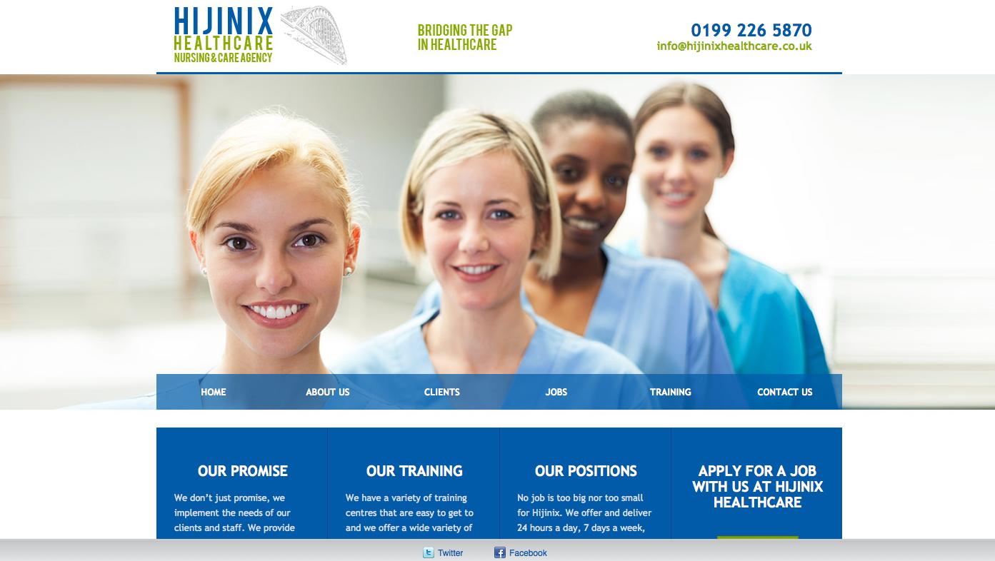 Hijinix Healthcare is a private Nursing recruitment agency