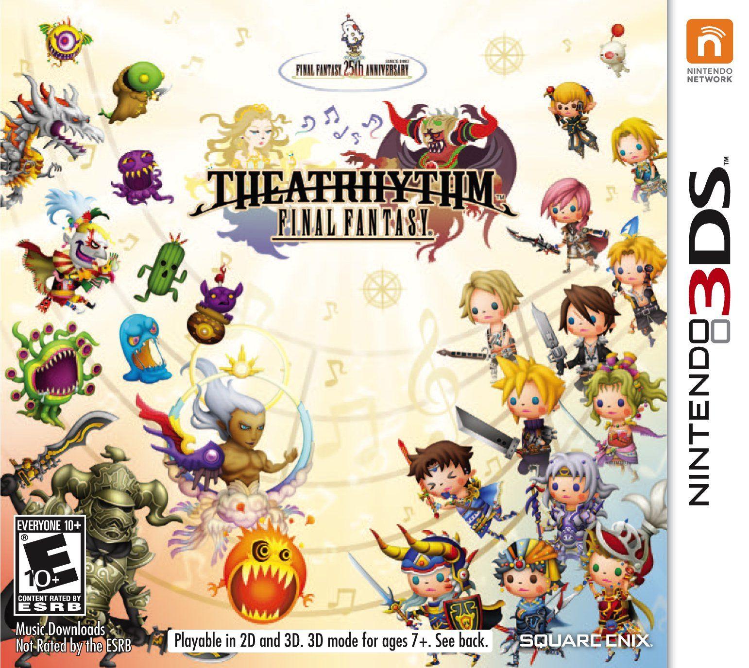 Amazon Com Theatrhythm Final Fantasy Video Games Final