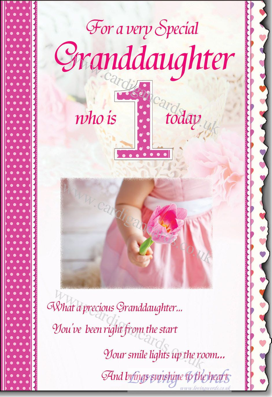 Image Result For 1st Birthday Wishes For Grand Daughter 1st Birthday Wishes 1st Birthday Cards Happy Birthday Photos