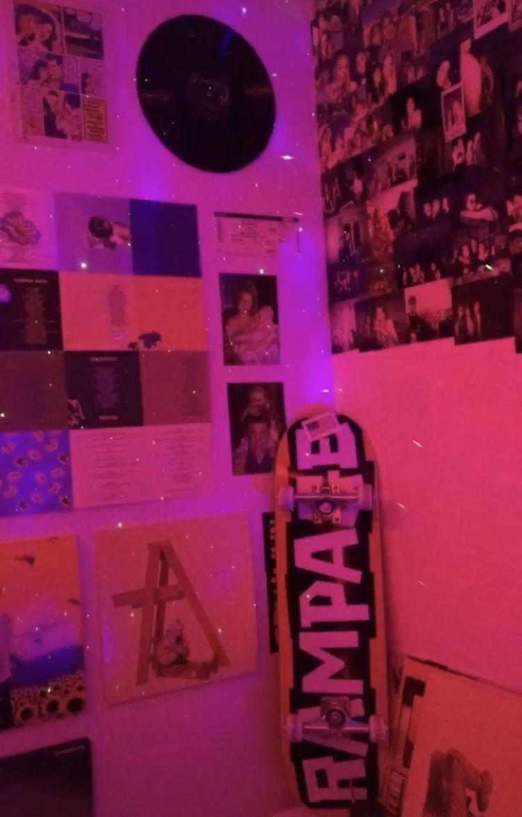 Aesthetic Room Paintings In 2020 Neon Room Hippy Room Retro Room