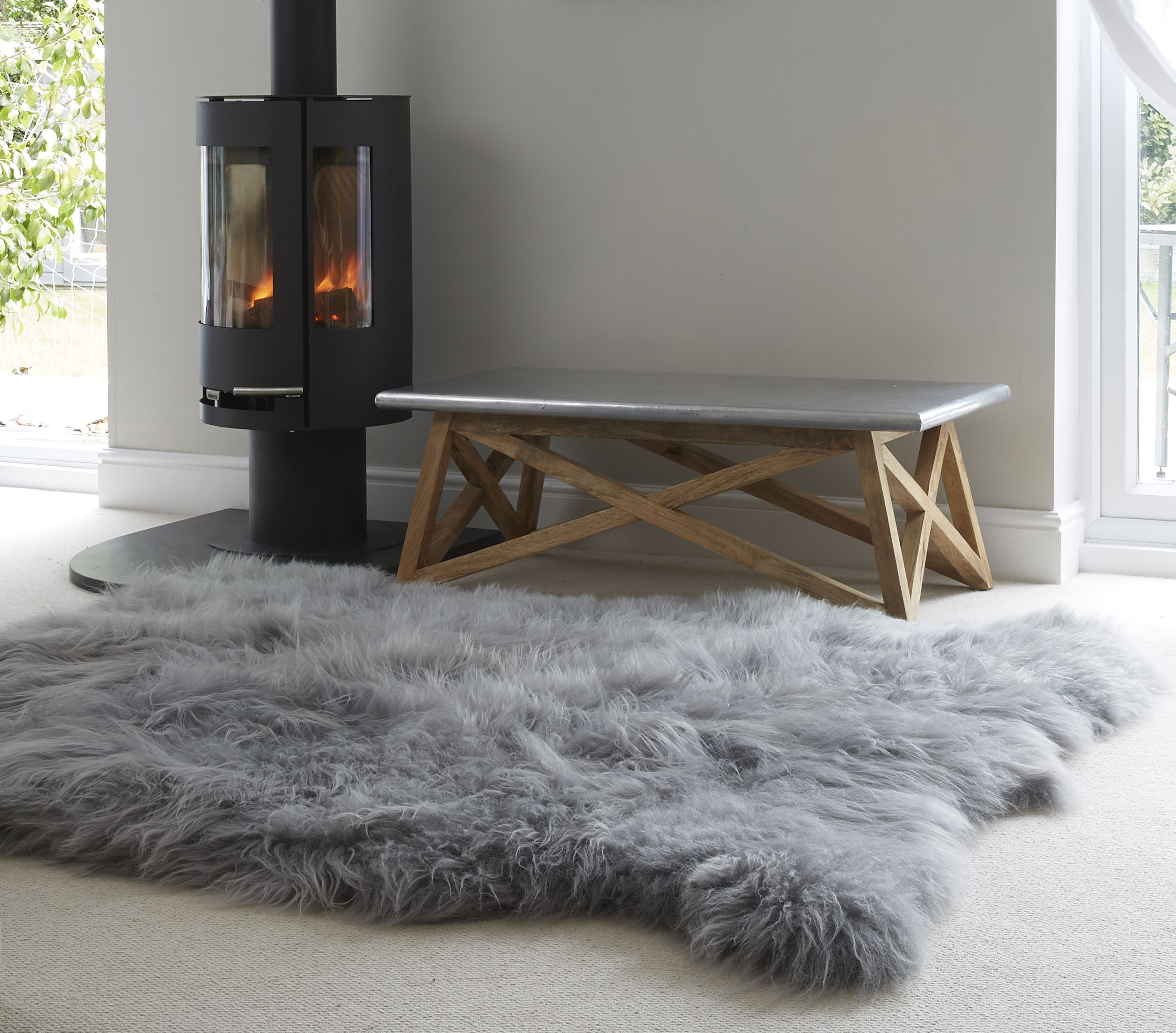 Create A Wow Factor In Your Home With Our Extensive Range Of Large Sheepskin Rugs Perfect Laid Out On The Floor Or D Over Sofa