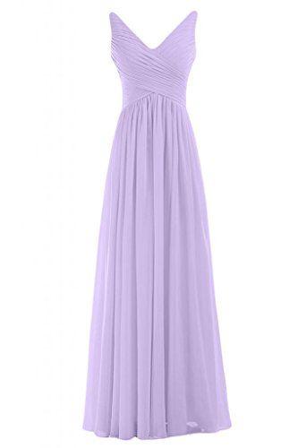 Sunvary Graceful V-neck Long Women\'s Evening Dress Bridesmaid Gowns ...