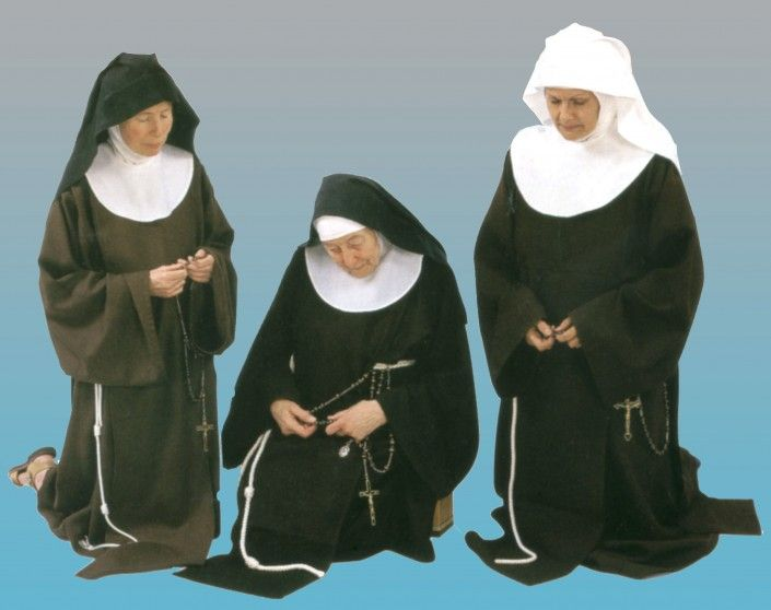 Traditional Habits Franciscan Habits Nuns Habits Scapular How To Wear
