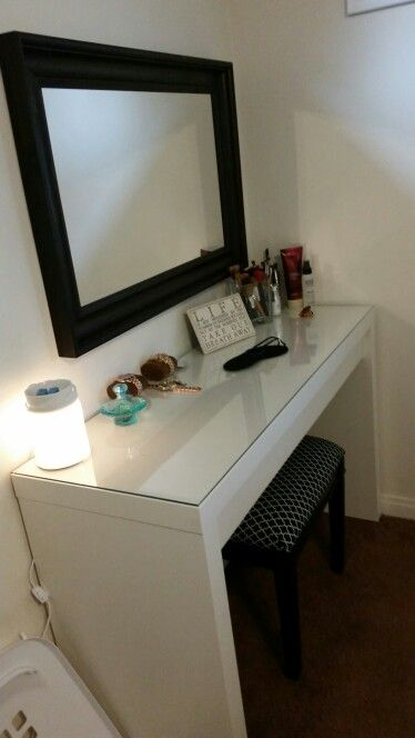 Tremendous My Diy Makeup Vanity Reupholstered Vanity Stool Done By Me Andrewgaddart Wooden Chair Designs For Living Room Andrewgaddartcom