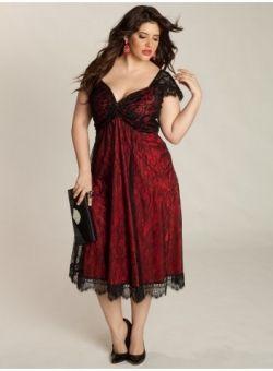 Red Cocktail plus Size Dress Ideas Designers Outfits Collection. Rachelle Plus  Size Lace Dress in Black Rouge 976491ba93b5