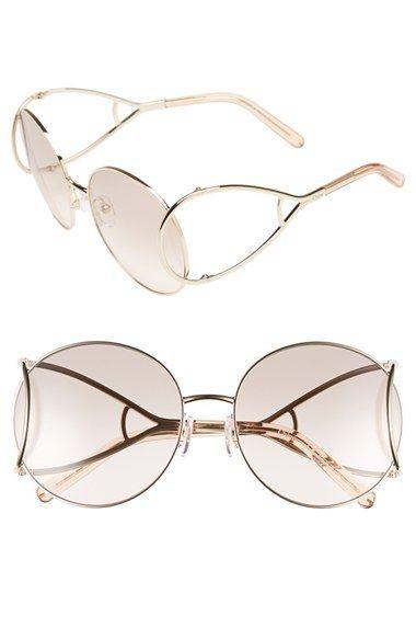 Chloe  Jackson  60mm Round Sunglasses  56f7267c93bb