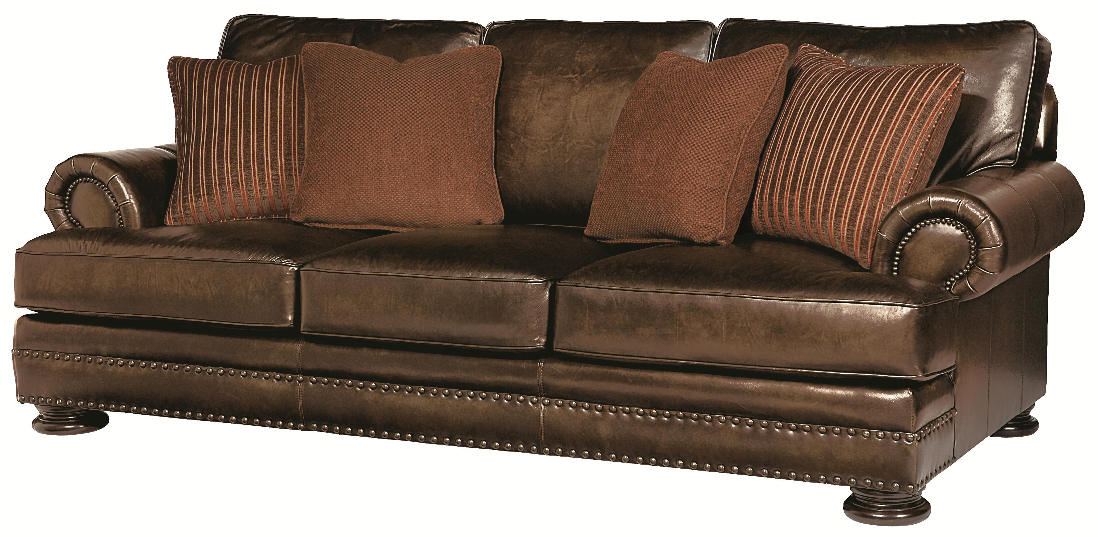 Foster Sofa By Bernhardt 2099 At Belfort Furniture Leather