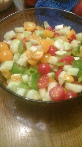 Our almost homemade salsa