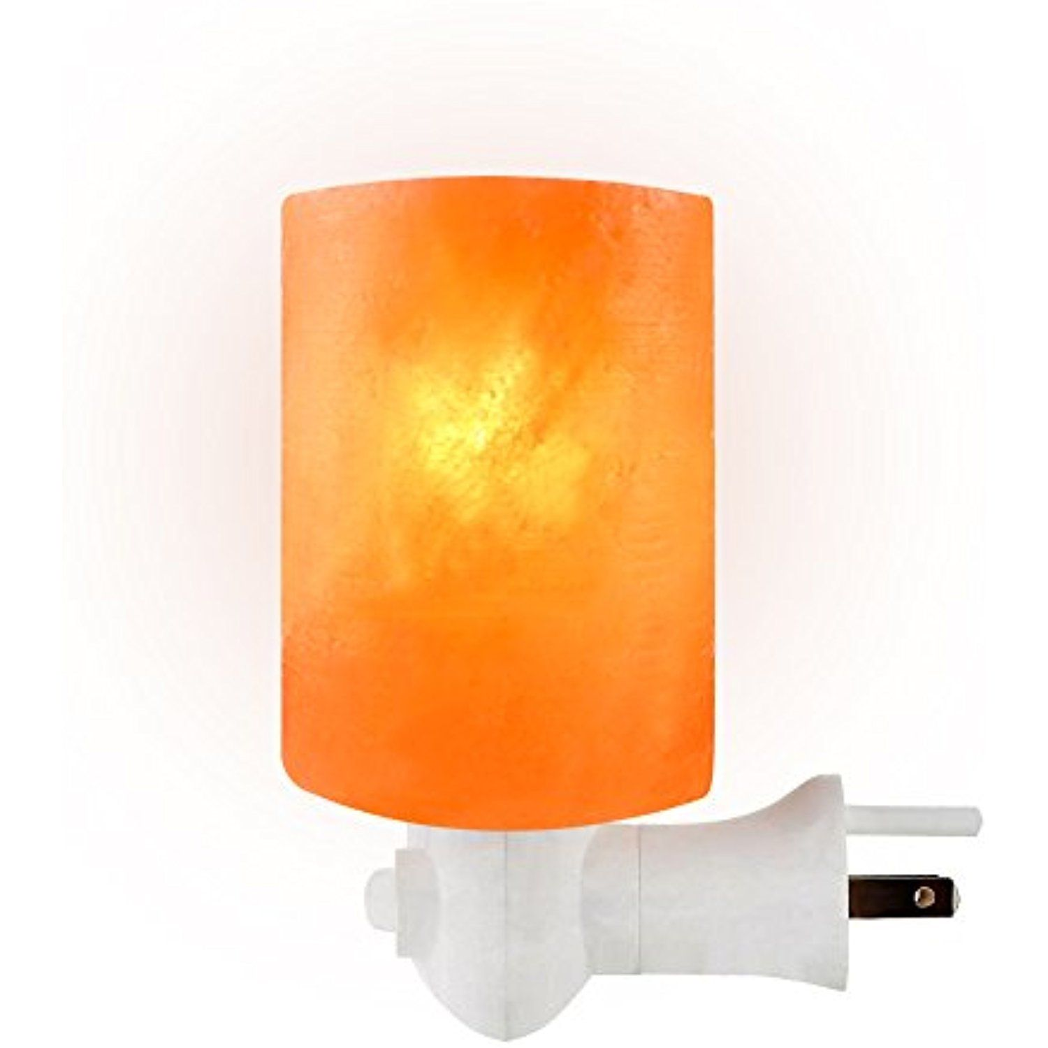 Salt Gems Himalayan Salt Lamp Night Light Wall Light Hand Carved Crystal Salt Rock Wall Plug Bedroom Night B Lighting Ceiling Fans Night Light Wall Lights