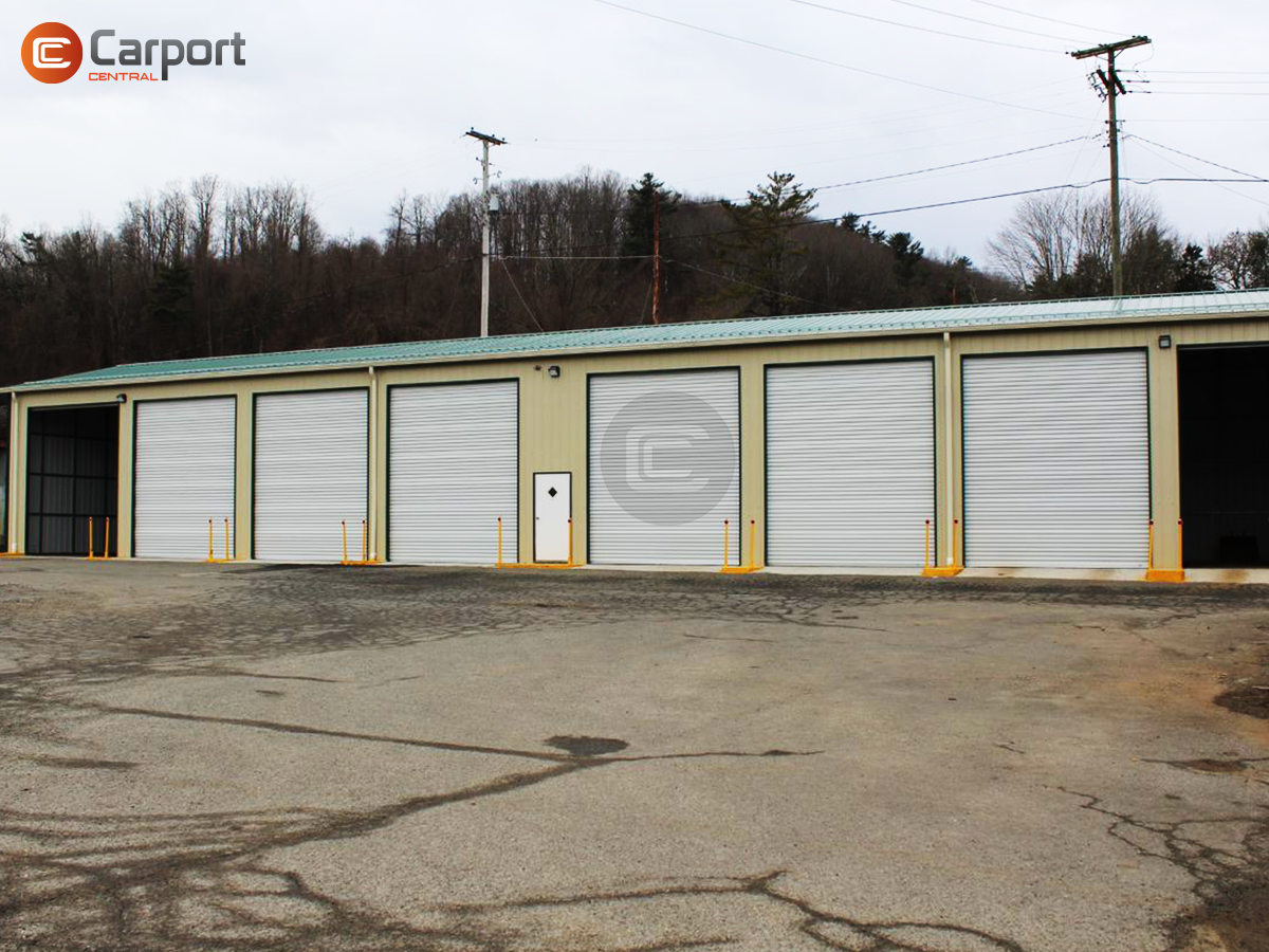 30 X 120 Commercial Side Entry Garage Metal Building Prices Prefab Metal Buildings Steel Buildings