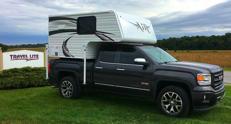 Tcm Exclusive 2017 Travel Lite Air Slide In Truck Campers