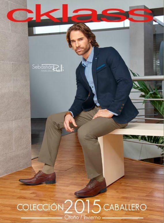 Catalogo Cklass Caballero Coleccion Otono Invierno 2015 Zapatos Ropa Para El Hombre Mens Outfits Sebastian Rulli Handsome Men