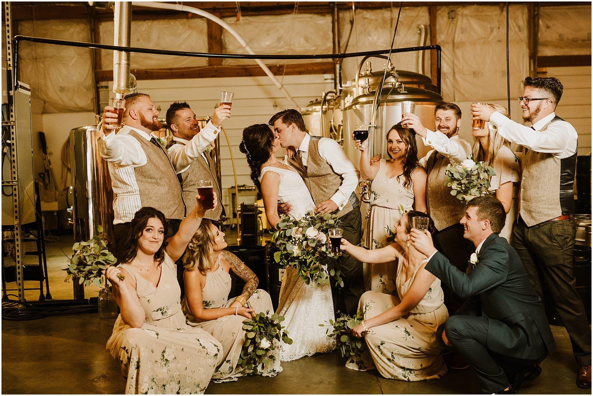 Michigan Brewery Wedding Michigan Wedding Venues