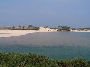 Playa de la Rabia en el Tejo
