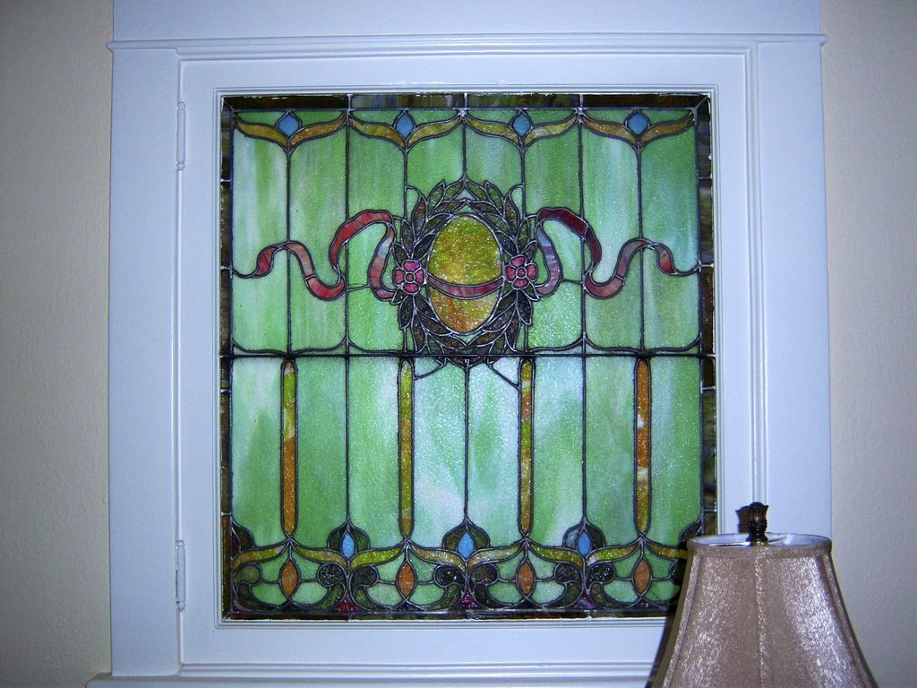 Leaded Stain Gl Window From Denver Square Home C 1900