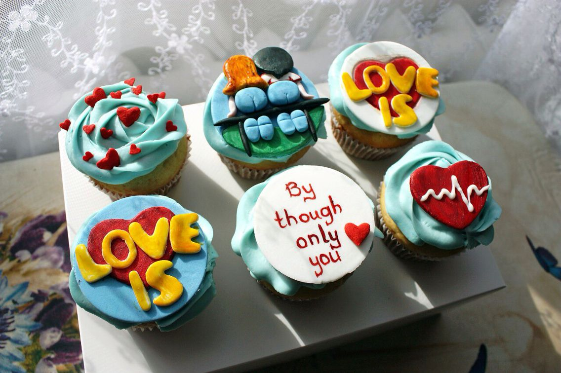#cupcakes #loveis #love #delicious