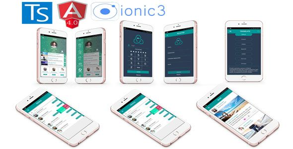 Ionic 3 + Angular 4 + i18n Full App with new features | Code
