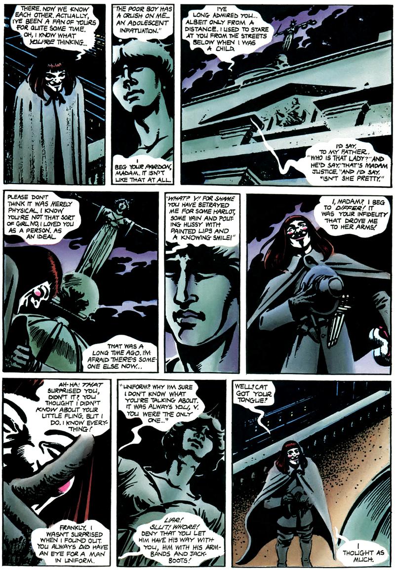V For Vendetta Excerpt
