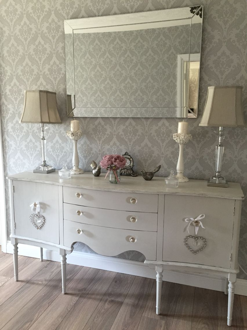 Shabby chic French style buffet sideboard