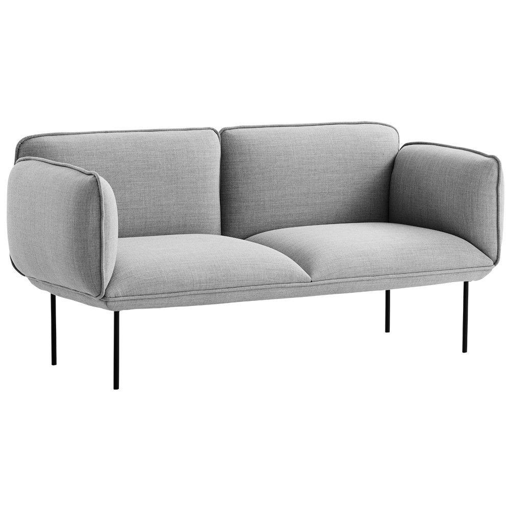 Woud Nakki 2 Seater Kvadrat Furniture Interior Decoration Sofa Furniture