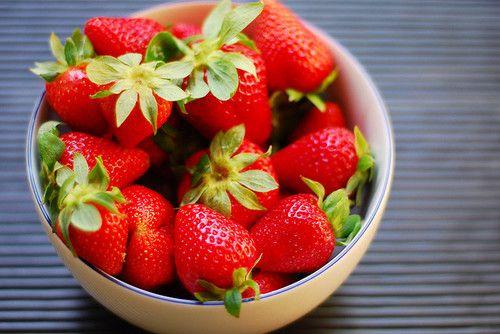 Delicious strawberry.