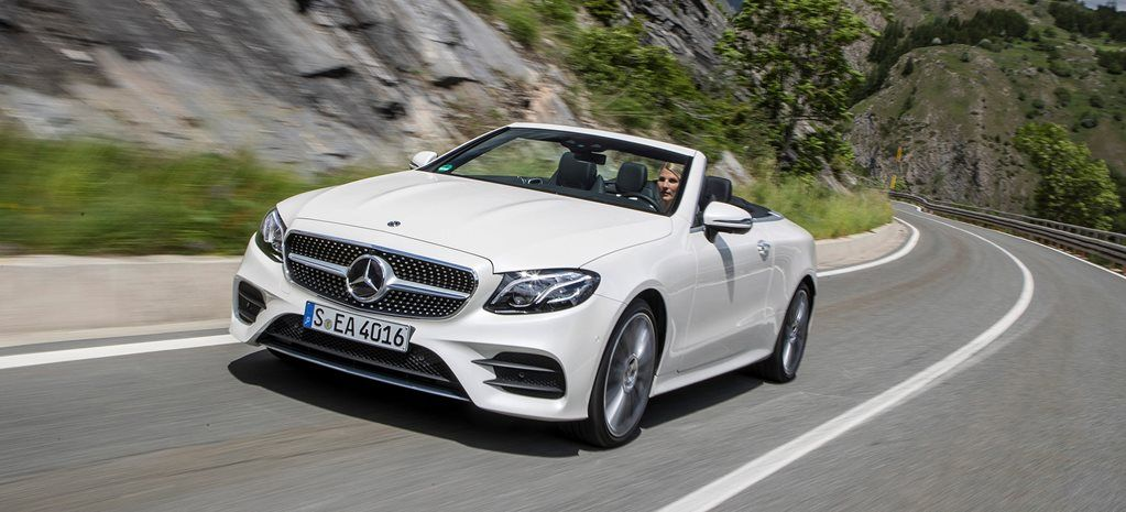 2017 Mercedes Benz E Class Cabriolet Review Mercedes Benz