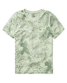 Acid Wash T-Shirt | T-shirt s/s | Boys Clothing at Scotch & Soda