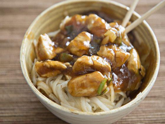 dan dan noodles (pf chang style) recipe - food