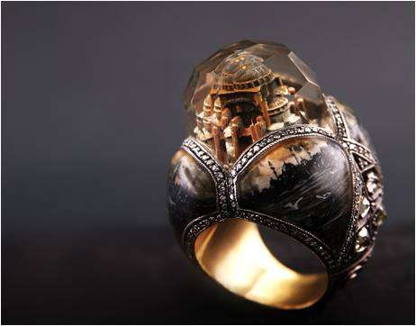 Architectual rings-The Sevan Bicakci Namesake Jewelry Collection is Mind-Blowing