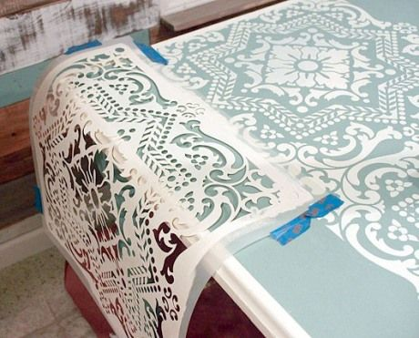 Estarcido buscar con google estarcido stencils for Plantillas para decorar muebles