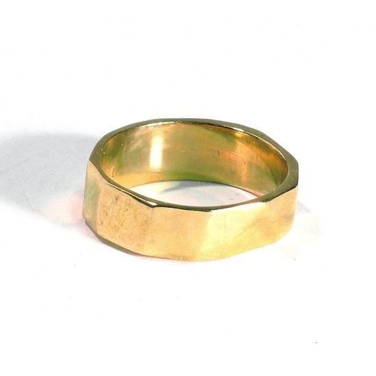 brass ring by Kiel Mead