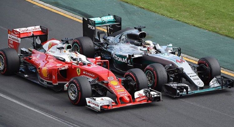 Vettel Vs Hamilton In Australia Race Cars Bahrain Grand Prix Mercedes