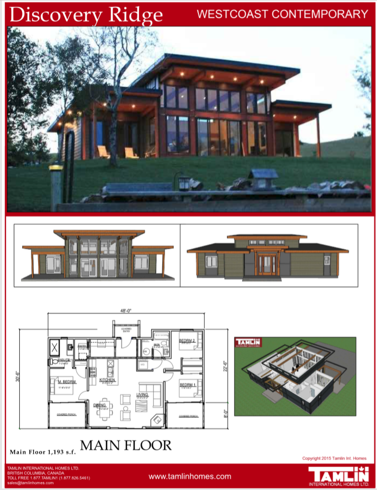Contemporary Designs Tamlin Timber Frame Homes Lake House Plans Modern Lake House Modern Style House Plans