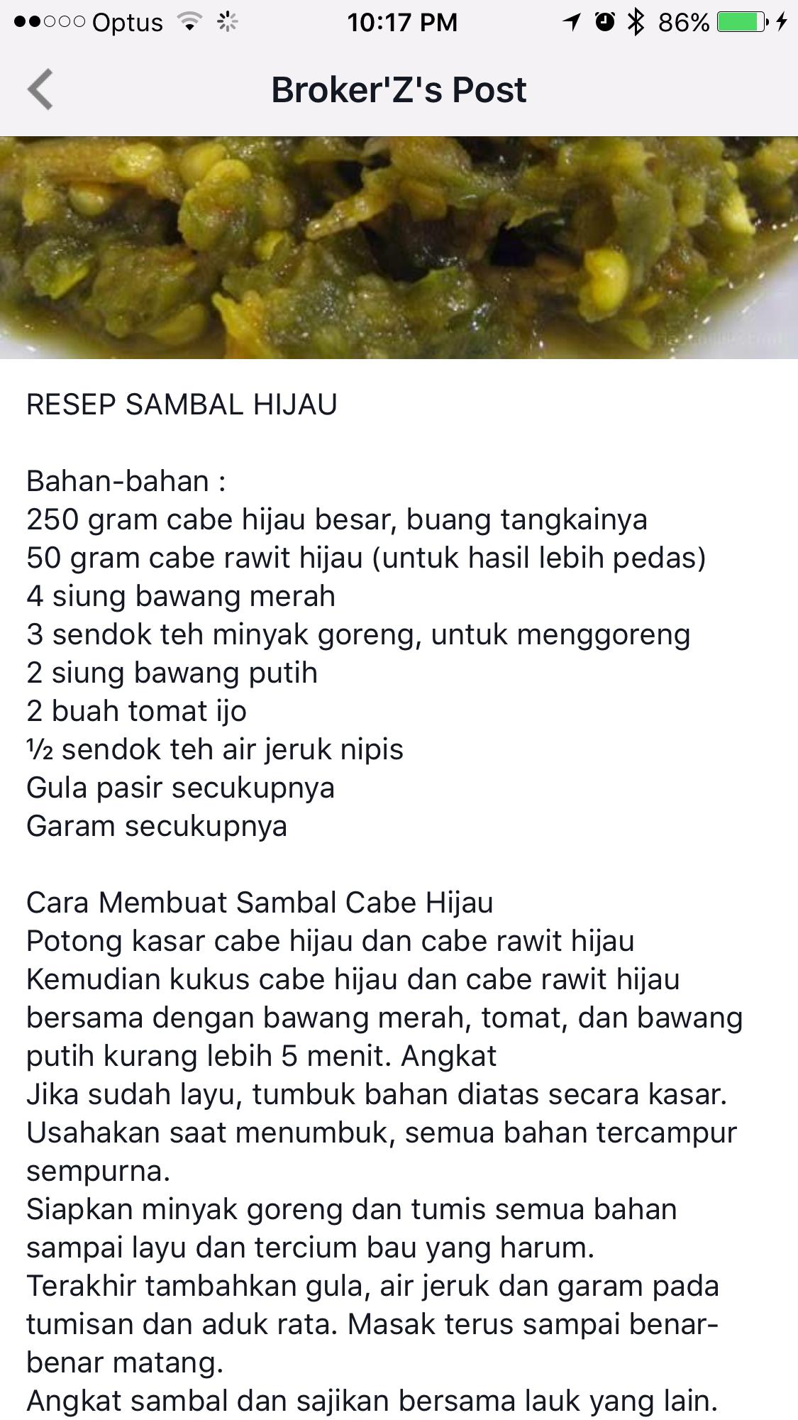 Pin By Giok Ay On Resep Aneka Sambal Pinterest Recipes Minyak Ijo Hijau
