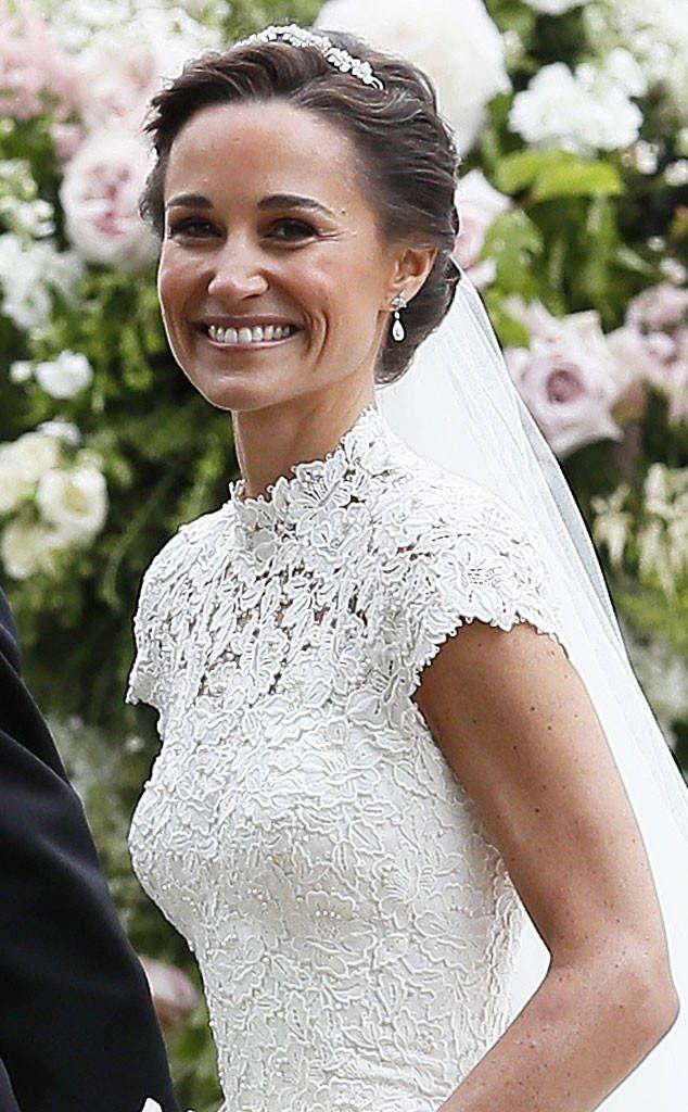 Pippa Middleton From Pippa Middleton James Matthews Wedding The Blushing Bride Pippa Middleton Wedding Pippa Middleton Wedding Dresses