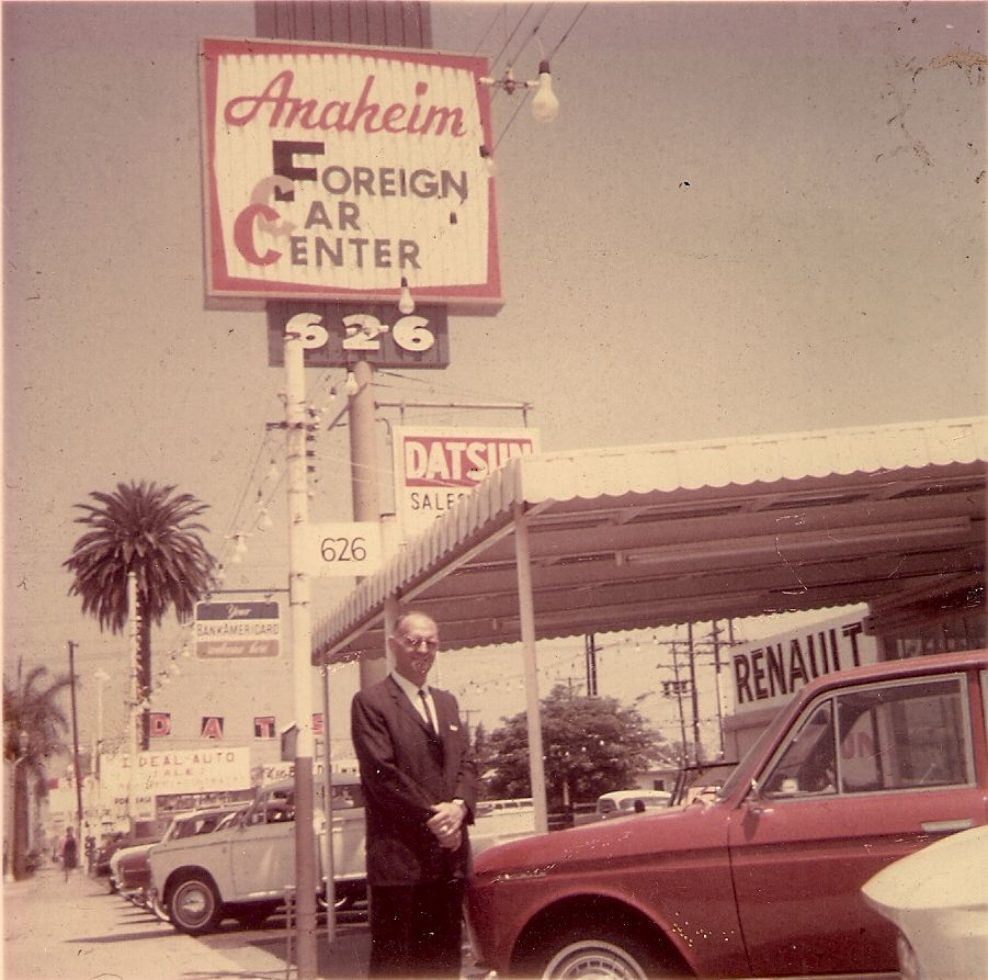 Ned Hutchinson, coowner of Anaheim Foreign Car Center 626
