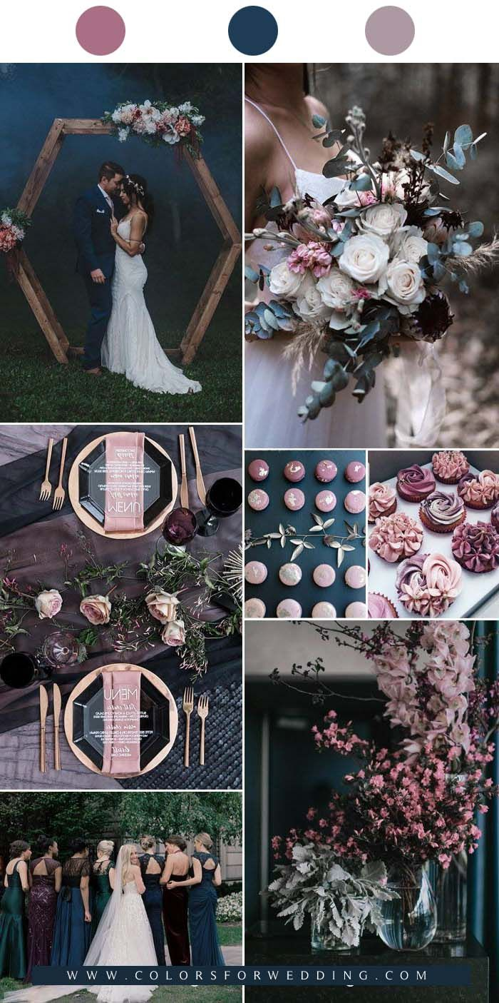 TOP 10 Fall Wedding Color Ideas For 2021 in 2020 Fall