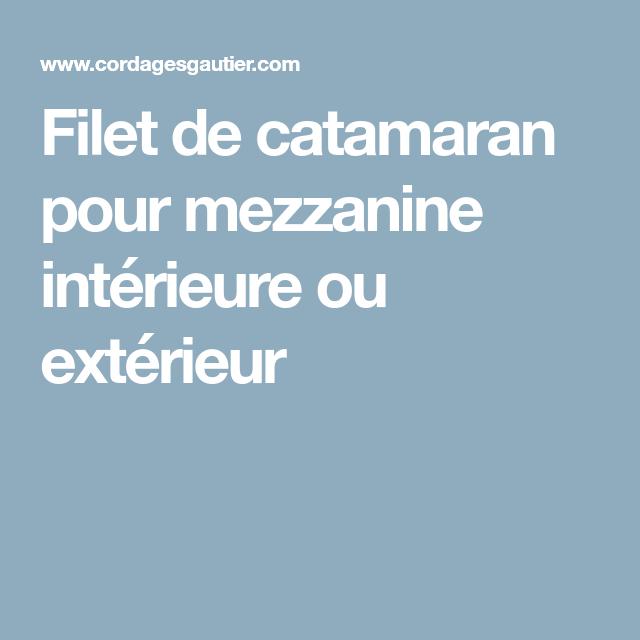 Filet Garde Corps Mezzanine