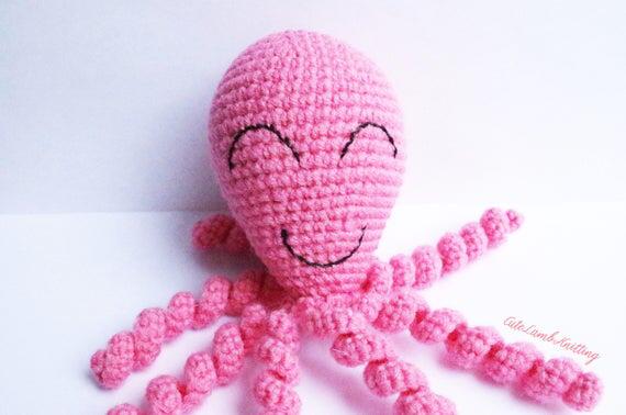 Crochet octopus, amigurumi octopus, amigurumi crochet toy, crochet stuffed animal, crochet animals, crochet plush toy, soft toy, plushies #crochetoctopus
