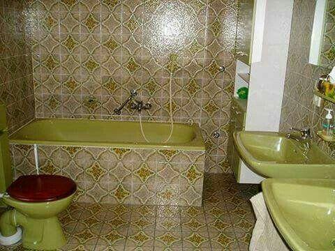 Embedded Vintage Bathrooms Retro Bathrooms Retro Home Decor