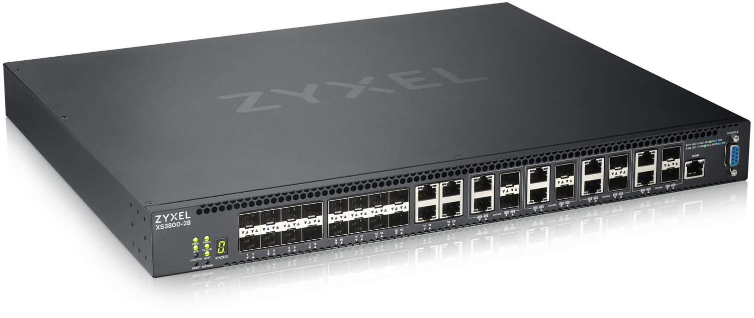 Zyxel revolutionizes campus and SME networks with XS3800