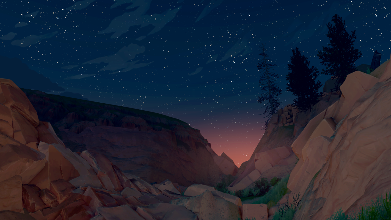 Color Theory: The Art of Firewatch
