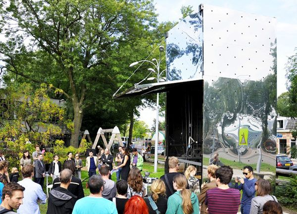 Innovative 3D Printed Canal House DUS Architects Building Print