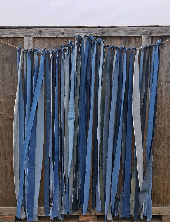 Denim Backdrop Denim Party Backdrop Denim Strips Backdrop