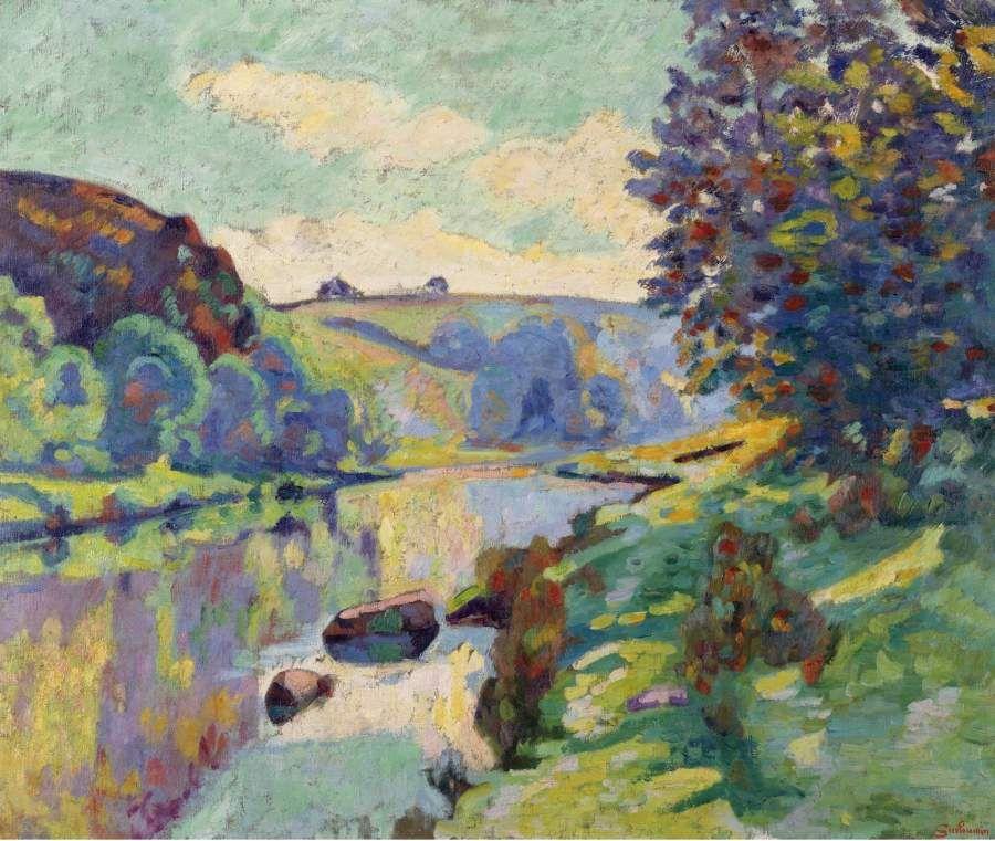 The Echo Rock At Crozant 1905
